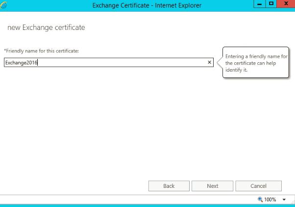 Exchange Server 2016: Configure SSL certificate - TechNet Articles ...