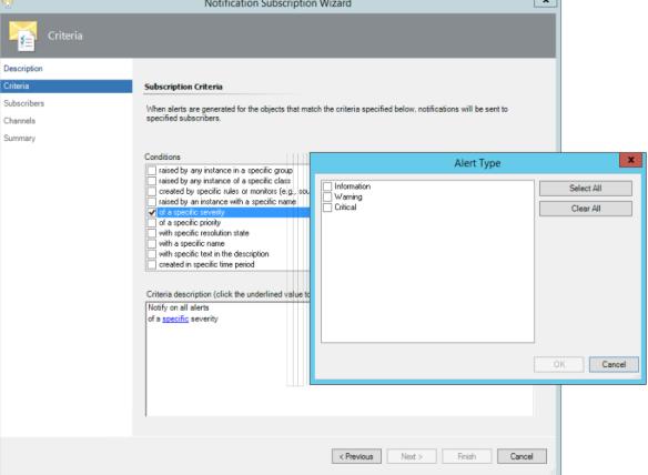 Configure SCOM 2012 to receive Exchange 2016 Alerts in Email