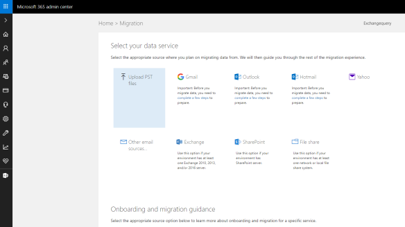 Bulk Import local PST files to Office 365 mailboxes