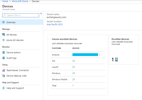 Configure Microsoft Intune to secure office 365 apps in
