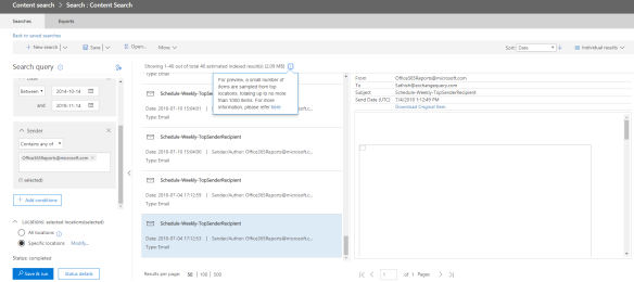 Quick Tips – Search mailbox operation in office 365 | EzCloudInfo