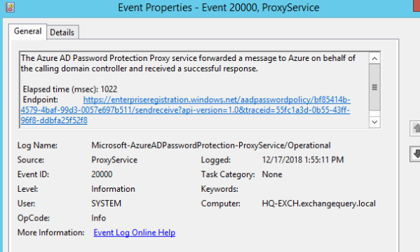 Azure AD password protection preview for on premise Active Directory