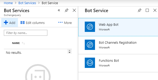 Create Microsoft Azure Bot and Integrate with Microsoft