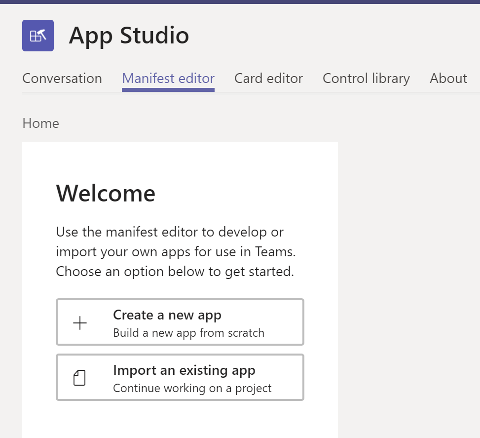 Create Customized App Package for Azure Bot and publish them