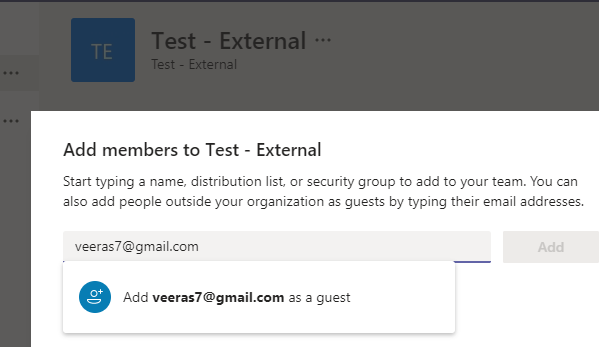 Microsoft Teams – Manage External and Guest Access